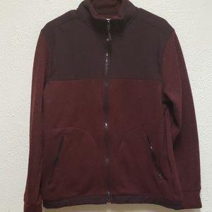Goodfellow&Co Mens Maroon Zip Up Sweater